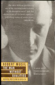 """Cover of """"The Man Without Qualities"""" by Robert Musil"""